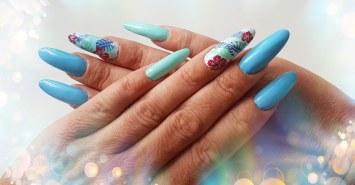 Acryl Nagel, Nagelpflege, Blue Dolphin Leistung